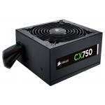 Блок  питания 750W Corsair CX750 (ATX, 12V, 20+4 pin, 6xSATA, 2xVGA, 4 x Molex, 120mm, Black, стандарт 80 Plus Bronze) [ CP-9020015-EU ]