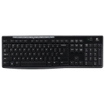 Клавиатура + мышь Logitech MK270 [920-004518] черный USB Bluetoth 2.0