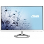 "Мониор ASUS 23""  Wide LED AH-IPS [MX239H] 16:9, 1920x1080, 5 ms, 250 cd/m2 , 80 M :1, 178°(H), 178°(V), DVI, HDMIx2, Speakers 3W x 2 Stereo RMS with Bang & Olufsen ICEpower, silver black"