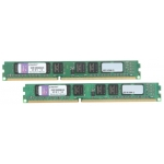 Оперативная память Kingston DIMM 8GB 1333MHz DDR3 Non-ECC CL9  SR x8 (Kit of 2) [KVR13N9S8K2/8]