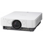 "Проектор Sony VPL-FX37 3LCD (0,79""), 6000 ANSI Lm, XGA (1024x768), 2000:1, Lens shift, (1,42-2,27:1), DVI-D (с HDCP), S-video, D-sub 15pin, 5BNC, Audio IN/OUT, VGA Out, RJ45, RS232, 8.1кг"