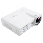Проектор Optoma X305ST (Full 3D), DLP, XGA (1024*768), 3000 ANSI Lm, 18 000:1, Короткофокусный Throw Ratio 0.626:1, HDMI, 2x15-пин D-sub (RGB/YPbPr/Wireless), S-Video, композит, аудиовход - Jack, USB Type B, VGA Out, RS232, 2.55 кг.