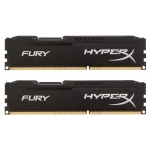 Оперативная память Kingston 8GB 1333MHz DDR3 HX313C9FBK2/8 CL9 DIMM (Kit of 2) HyperX FURY Black Series