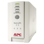 ИБП APC Back-UPS CS [ BK650EI ] 650VA 230V (stand-by, розеток (C13) 3+1, 400 Вт/650 VA, 2.4 мин, COM (RS-232) + USB 1.1, USB-кабель)