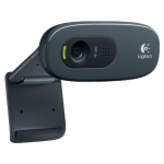 Интернет-камера Logitech HD WebCam C270 (USB 2.0, Black, HD 720p, встроенный  микрофон, Retail) [ 960-000636 ]