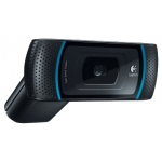 Интернет-камера Logitech HD WebCam B910 (USB 2.0, Black, HD 720p до 30 fps, cтеклянные линзы Carl Zeiss, автофокус, Retail) [ 960-000684 ]