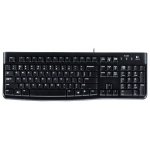 Клавиатура Logitech K120 (USB, waterproof, low profile) 920-002506