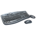 Беспроводные клавиатура + мышь Microsoft Wireless Desktop 2000 [M7J-00012] (USB, FM, keyboard: 5 multimedia btn, 2xAAA, mouse: optical, 1000dpi, 3btn+Scroll, 2xAA) Retail